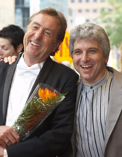 Eric Idle with cousin Peter Oundjian, Not the Messiah, Luminato, June 2007