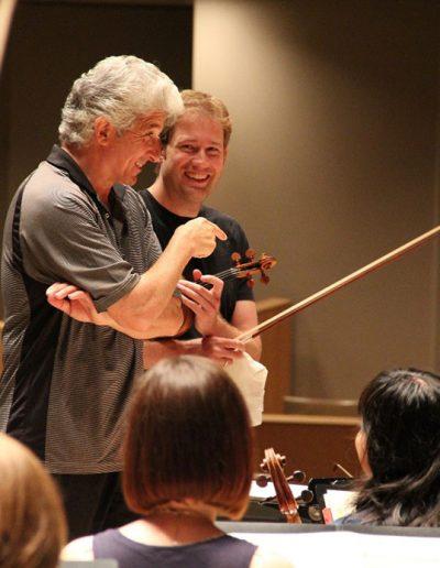 Jonathan Crow with Peter Oundjian
