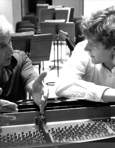 Peter Oundjian and Jan Lisiecki